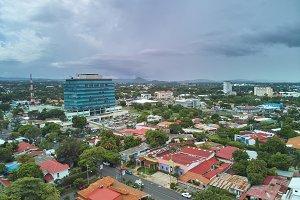 Center of Managua city