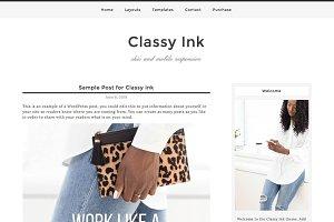 Classy Ink WordPress Theme
