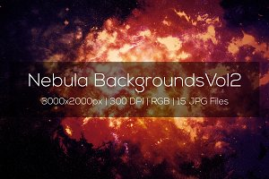 Nebula Backgrounds Vol2