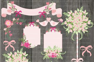 Rustic Floral Wedding AMB-859
