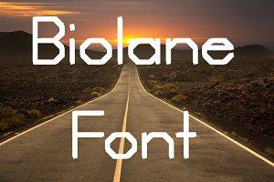 Biolane Font