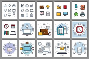 30 Office Vector Collection