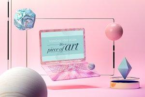 Artful Laptop Mockup