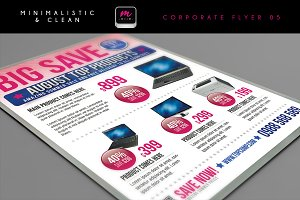 Clean Corporate Flyer Template 05