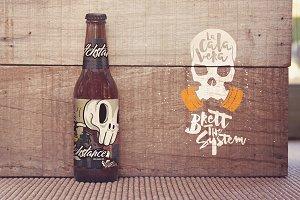 Formentera Beer & Logo Mockup