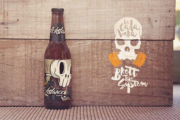 Formentera Beer Logo Mockup