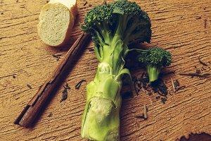 Broccoli Bread and Cinnamon