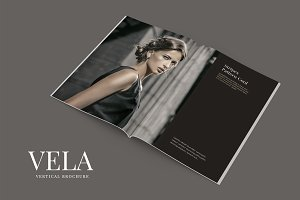 Vela Vertical Brochure Template