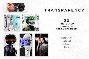 Transparency - Social Media Pack
