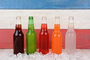 Five Bottles of Soda