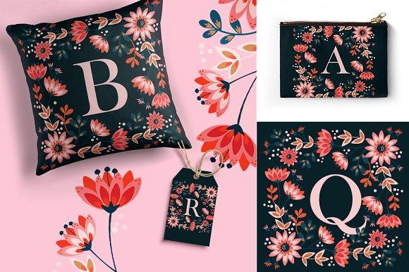 Sochi Floral Monograms