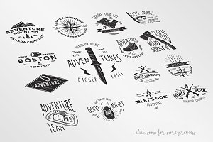 15 Adventure Badges
