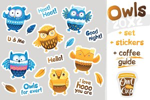 Owls and coffee guide