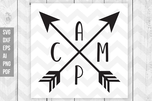 Camp Svg Dxf Ai Png Eps Pdf