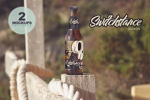 Formentera Beer Mockup (duo)