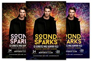 Sound Sparks Flyer