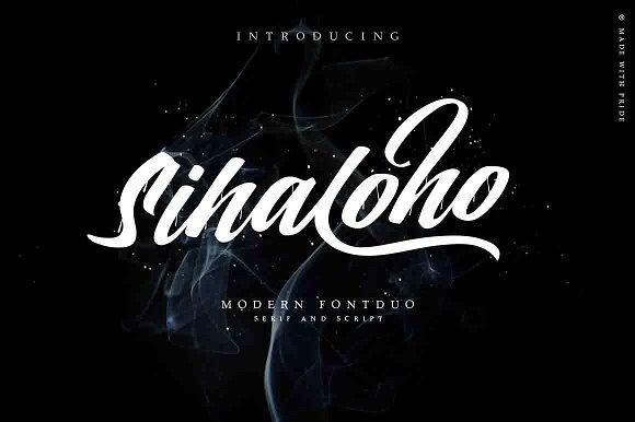 Sihaloho Font Duo