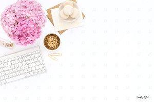 Styled stock desktop photography