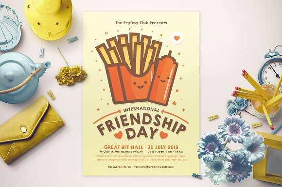 Friendship Day Flyer