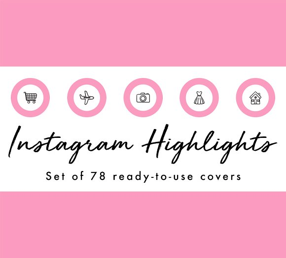 78 Circle Instagram Highlight Covers