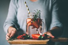 Strawberry lemonade by Yulia Grigoryeva in Food & Drink