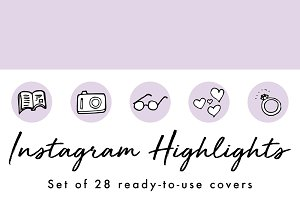 28 Instagram Story Highlight Covers
