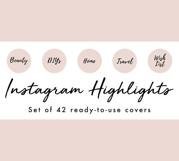 42 Pink Blogger Instagram Covers