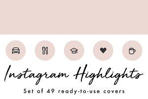 49 Minimal Pink Instagram Covers