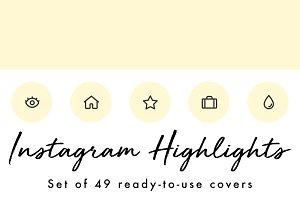 49 Minimal Yellow Instagram Covers