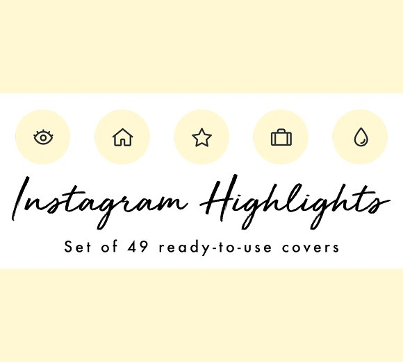 49 Minimal Yellow Instagram Covers