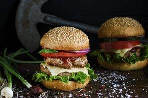 double burger
