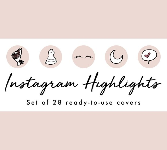 20 Brilliant Instagram Highlight Icon Sets For Brands Bloggers