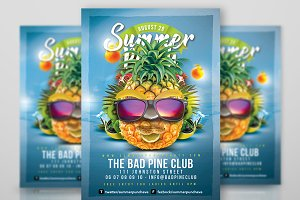 Fun Summer Party Flyer