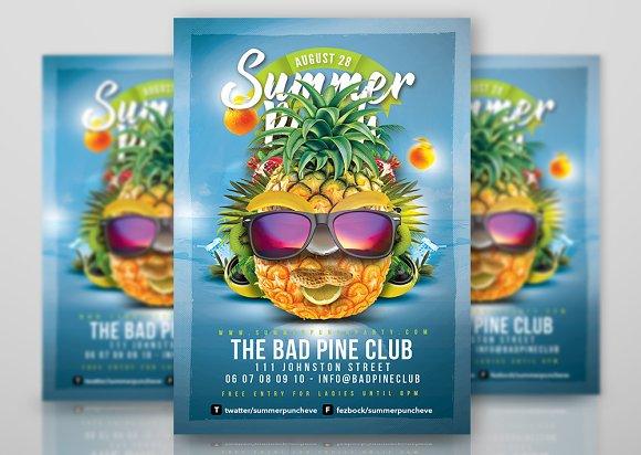 Fun Summer Party Flyer