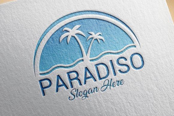 Paradise Beach Logo