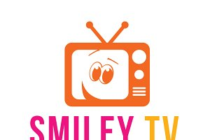 Smiley TV Logo Template