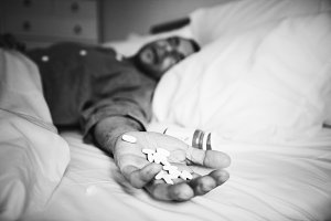 Man overdosed by taking many pills