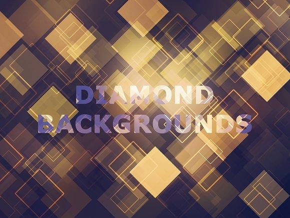 Diamond Photoshop Backgrounds II