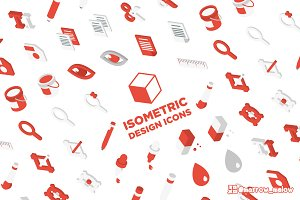 3D Isometric Design Icons