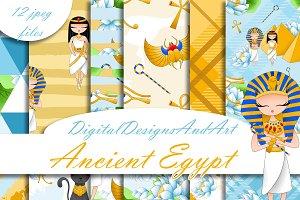 Ancient Egypt pattern