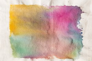 Dyed Art Canvas