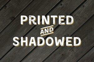 Kent 4F (Printed & Shadowed)