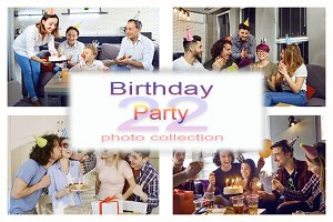 Birthday Party Photo Collection