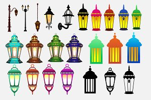 23 Lantern PNG Element Pack