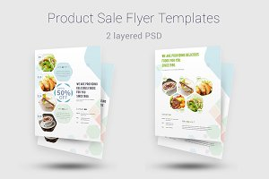 Product Sale Flyer Templates