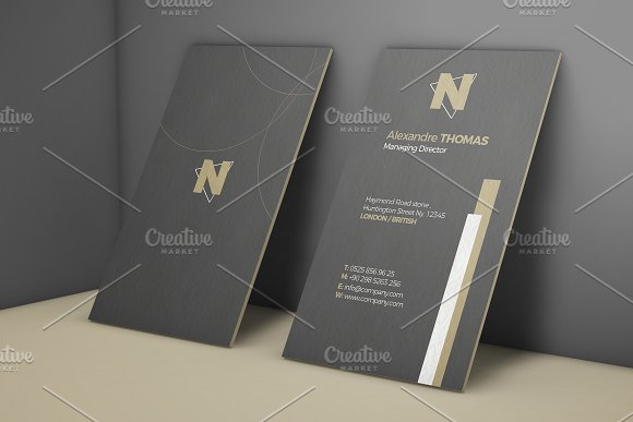 Business Card Mock-Up 9