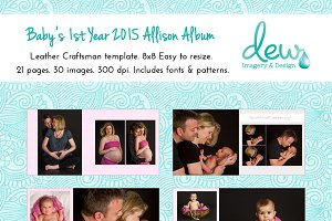 Baby's 1st Year 2015 Allison Album
