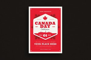 Canada Day Event Flyer