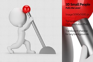3D Small People - Pulls the Lever