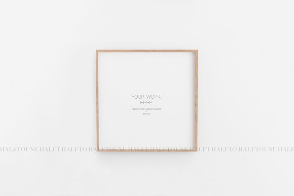 Mockup Frame Customizable 1x1 Ratio in Graphics - product preview 6